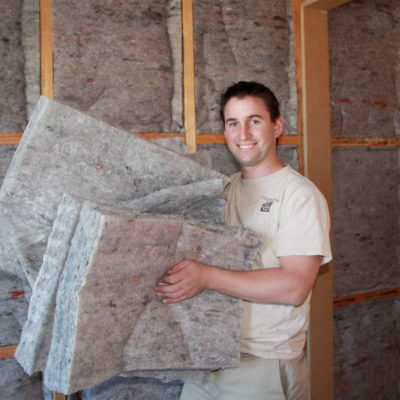 Wool Wall Insulation installed in Christchurch